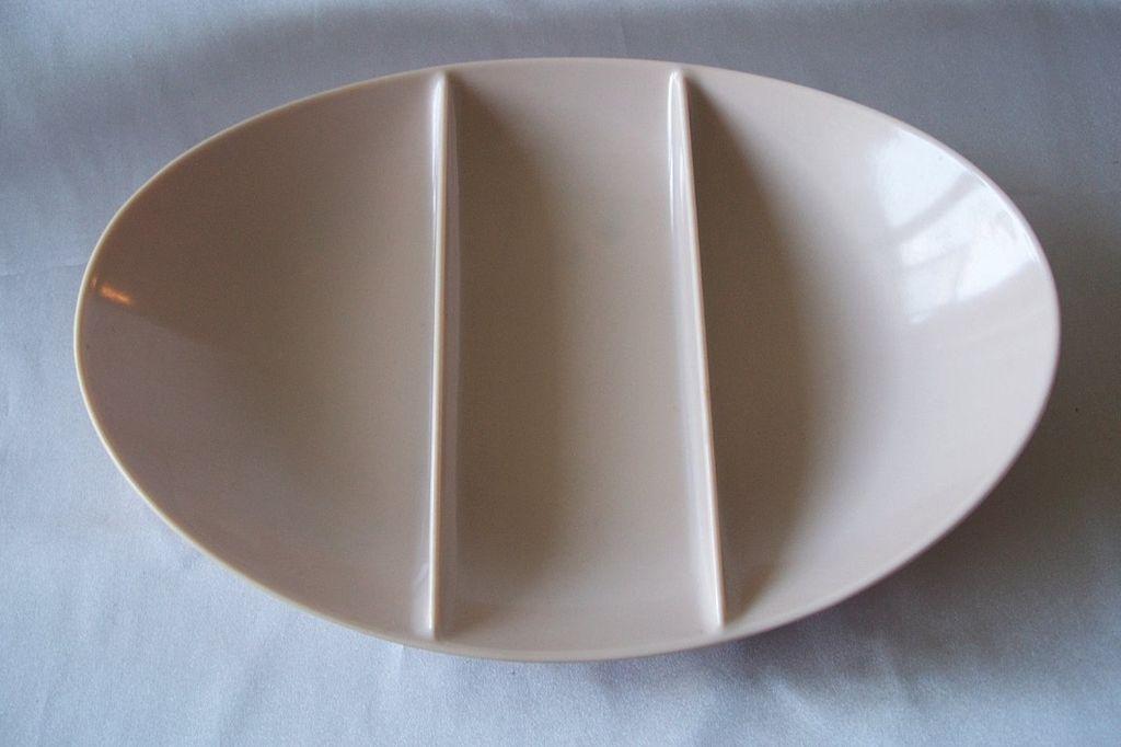 Fostoria Dinnerware Melamine Divided Bowl