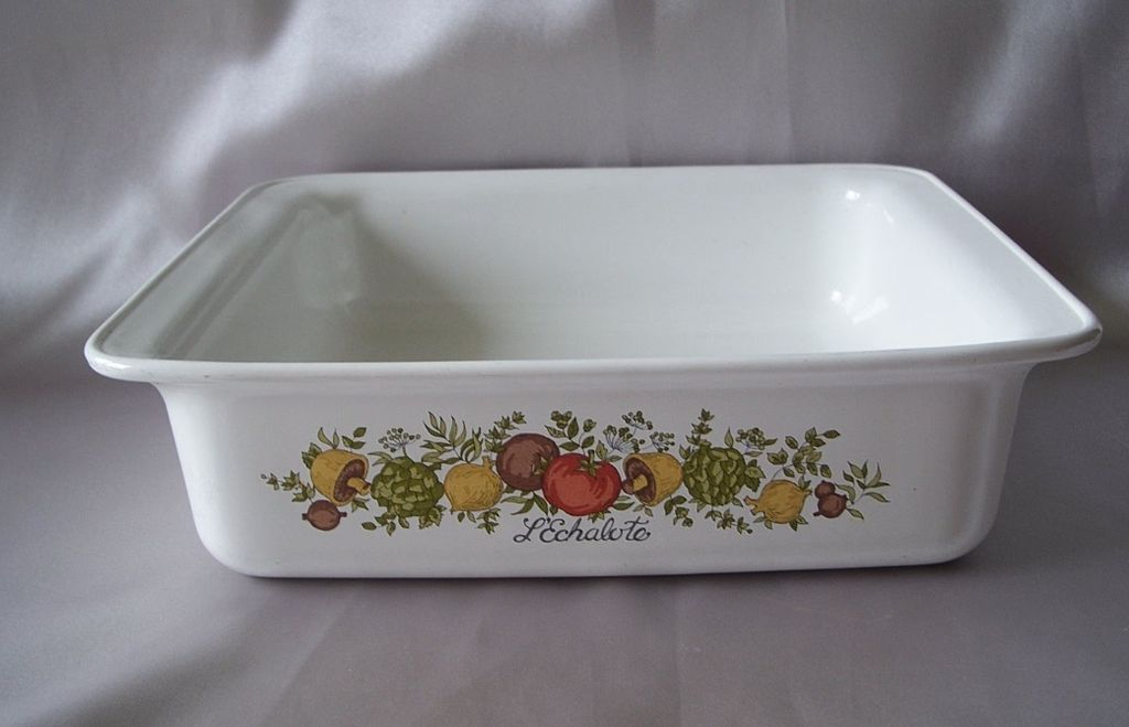Corning Ware Spice Of Life Open Baking Casserole Dish