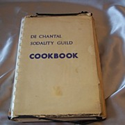 De Chantal Sodality Guild Cookbook Bethesda Maryland 1956