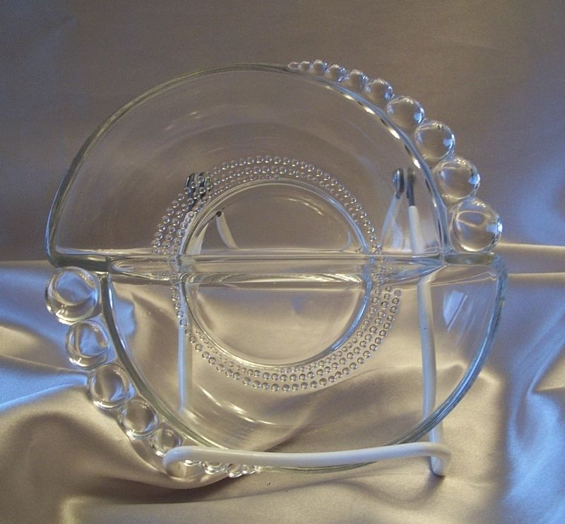 Crystal  Nut Dish by Duncan & Miller