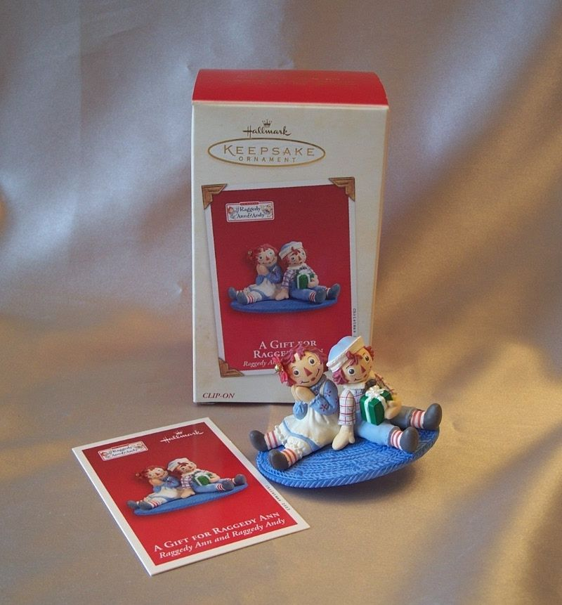 Hallmark Keepsake Ornament A Gift For Raggedy Ann