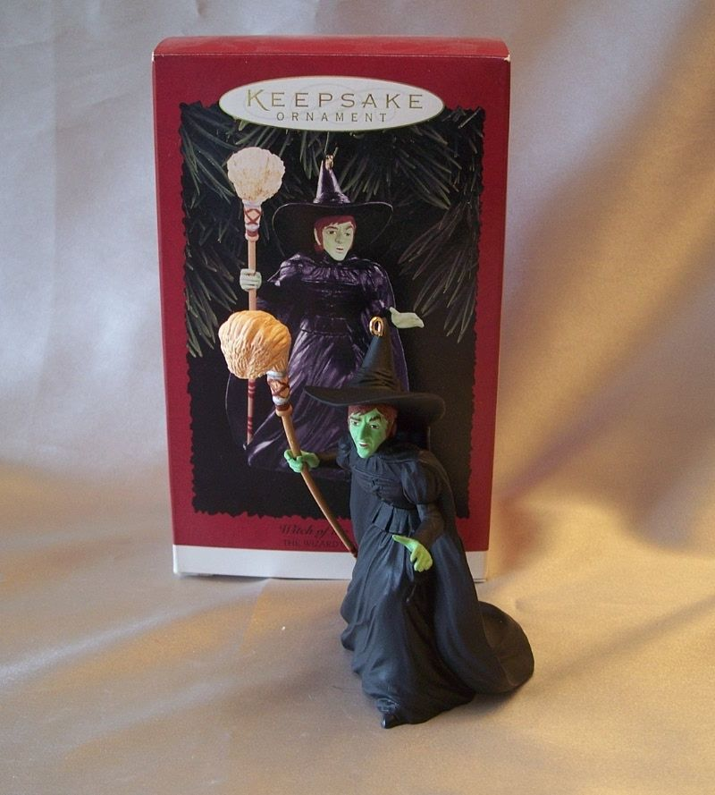 Hallmark Keepsake Ornaments Witch of the West