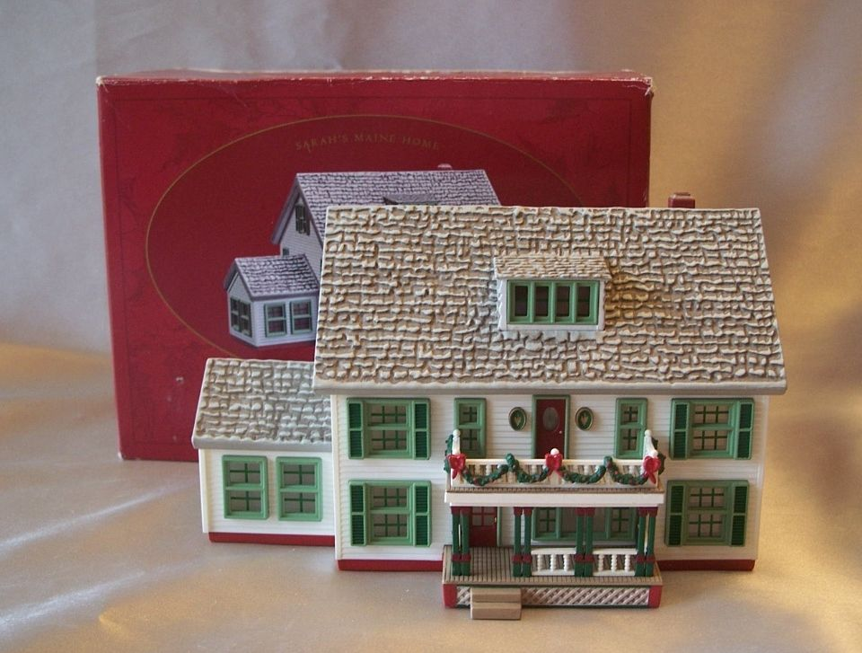 Hallmark Keepsake Ornament Sarah Plain and Tall Maine Home
