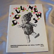 United Federation of Doll Clubs Doll News 1976