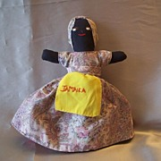 Hand Crafted Topsy Turvy Cloth Doll - Red Tag Sale Item