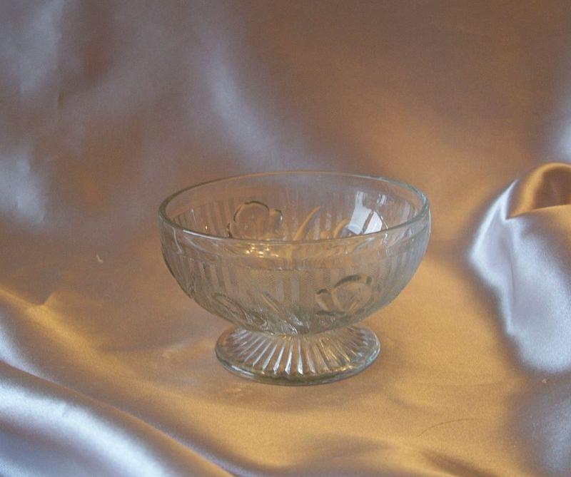 Iris and Herringbone  Crystal Sherbert By Jeannette Glass