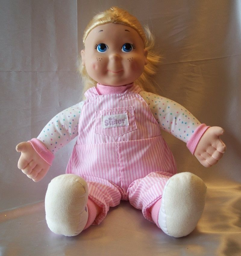 Playskool Kid Sister Doll 1989