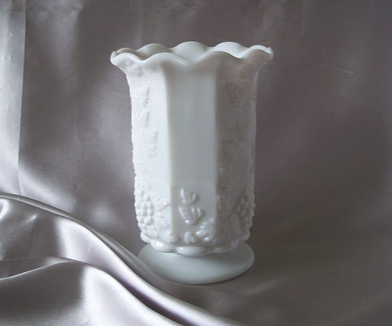 Westmoreland Milk Glass Celery Vase