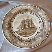 Wedgewood The American Clipper Ship Plate Young America