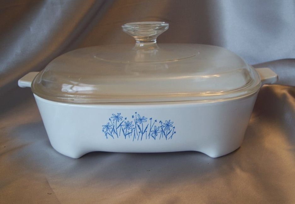 Sear Microwave Browning Dish By Corning From