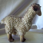 Vintage Kamar Toy Stuffed Lama