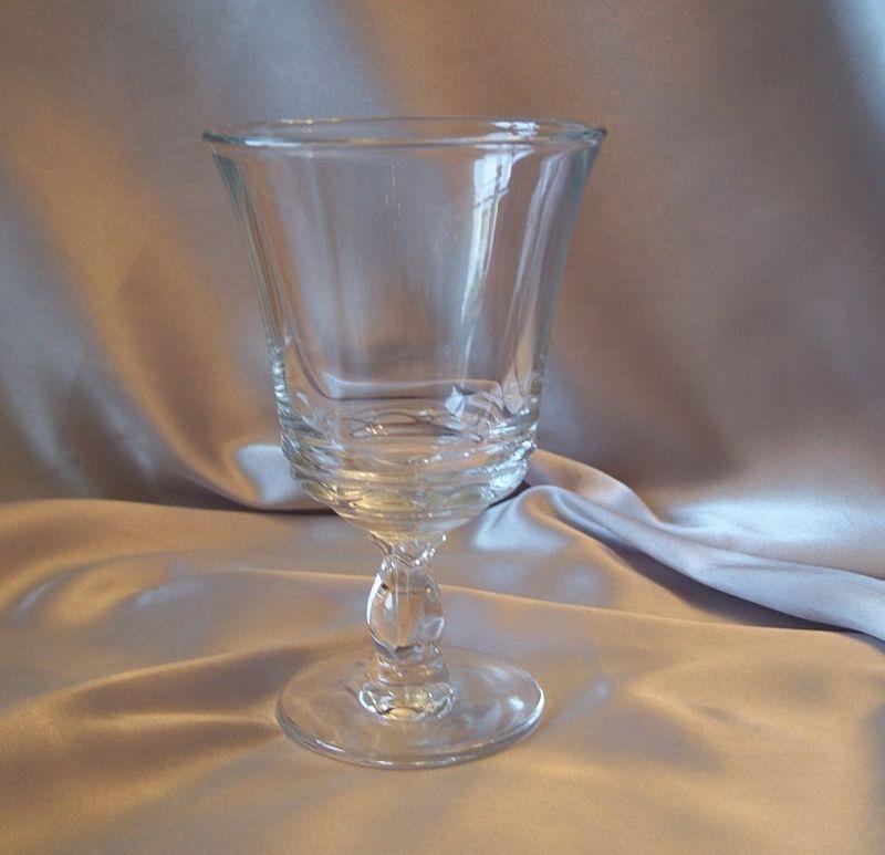 Fostoria Glass Crystal Century  Goblet