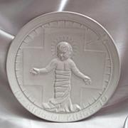 Frankoma Pottery 1970 Christmas Plate