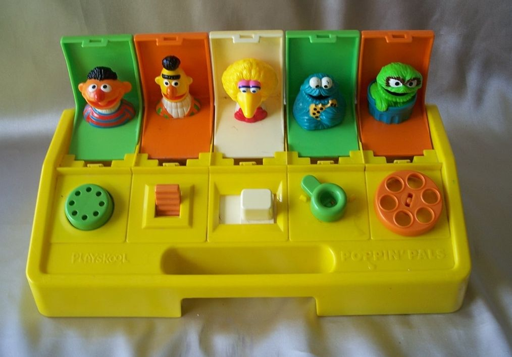 Playskool Poppin Pals Seasame Street Muppets