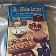 Blue Ribbon Recipes County Fair Winner Cookbook 1968