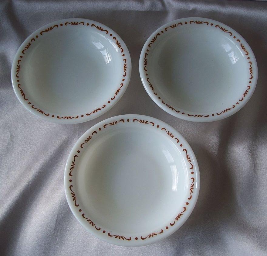 Three Pyrex Berry Bowls U.S.A.