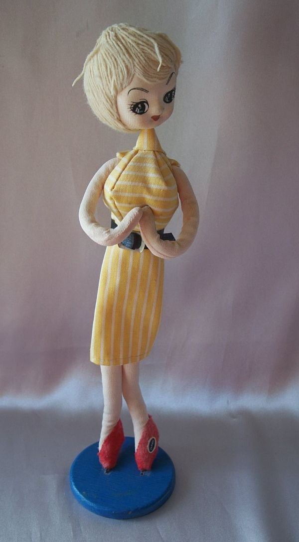 Vintage 1960's Doll