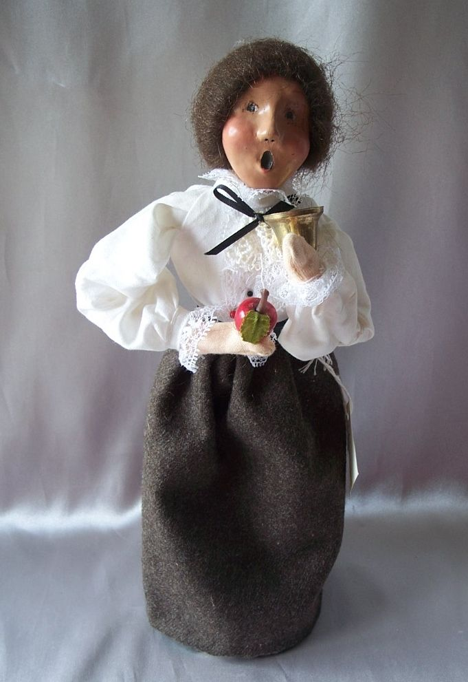 Teacher Caroler by Byers Choice