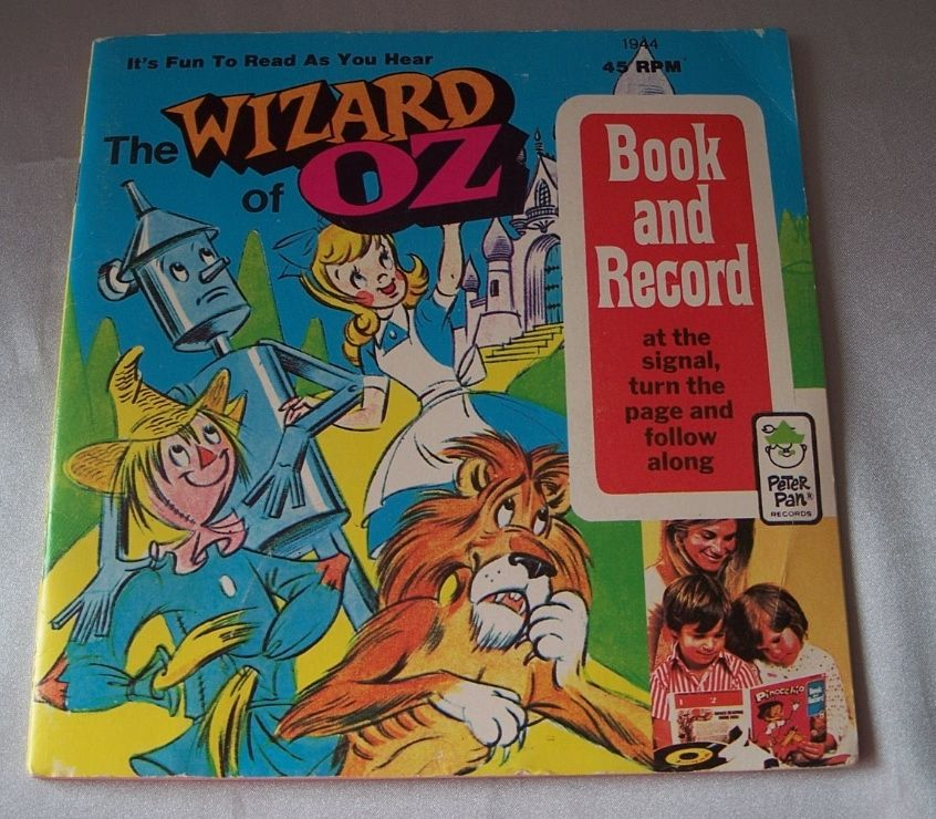 The Wizard of Oz Book and Record