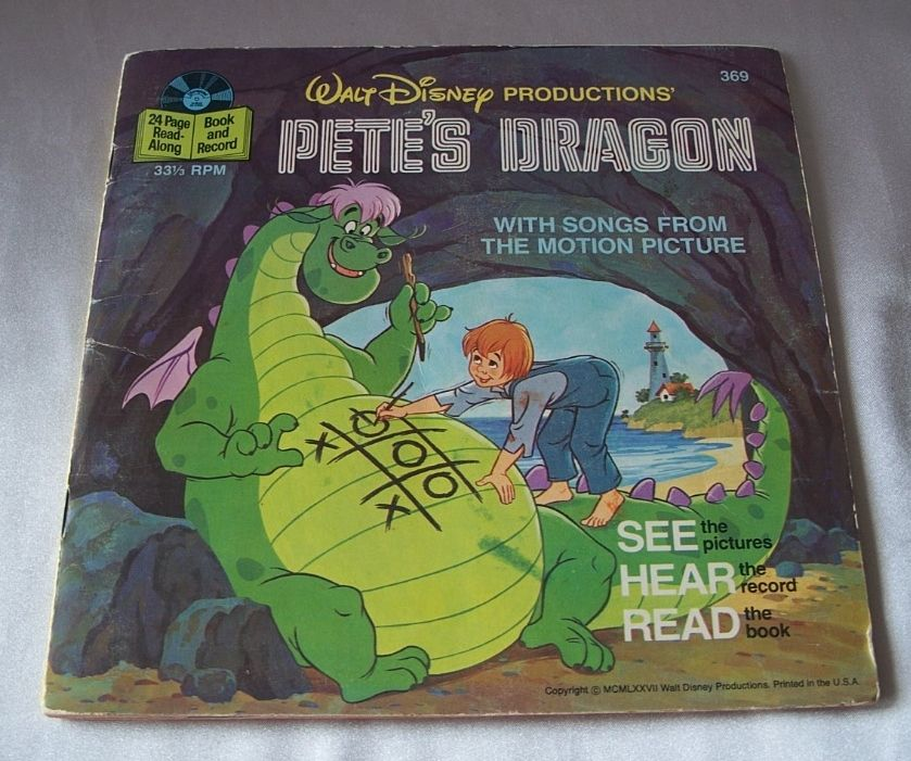 Walt Disneys Pete's Dragon Record and Book