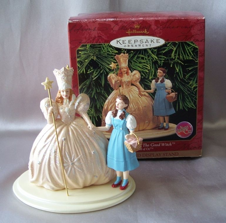 hallmark keepsake ornament dorothy and glinda wizard of oz from colemanscollectibles on ruby lane