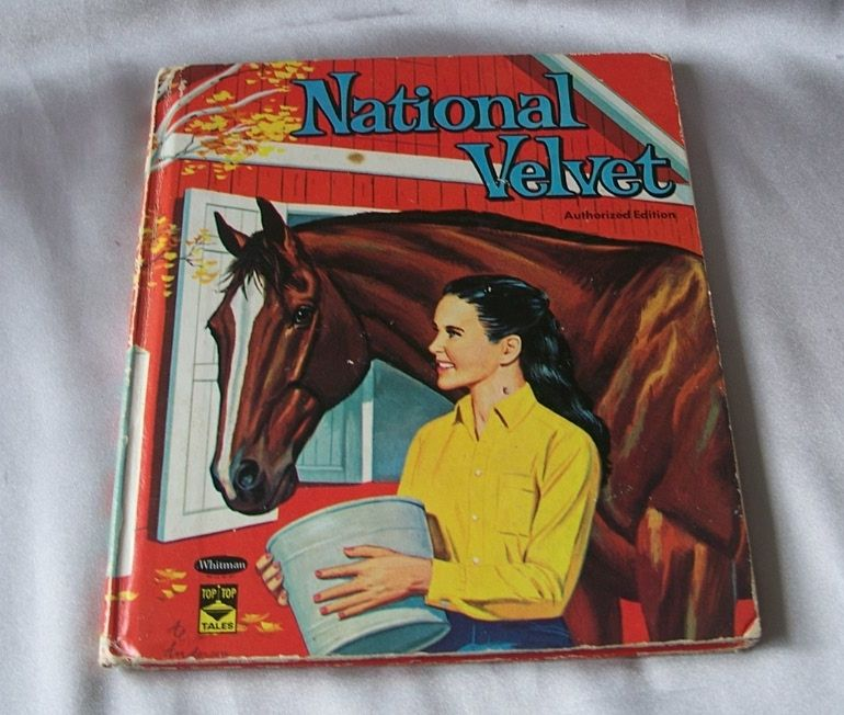 Whitman Top Top Tales National Velvet  Book