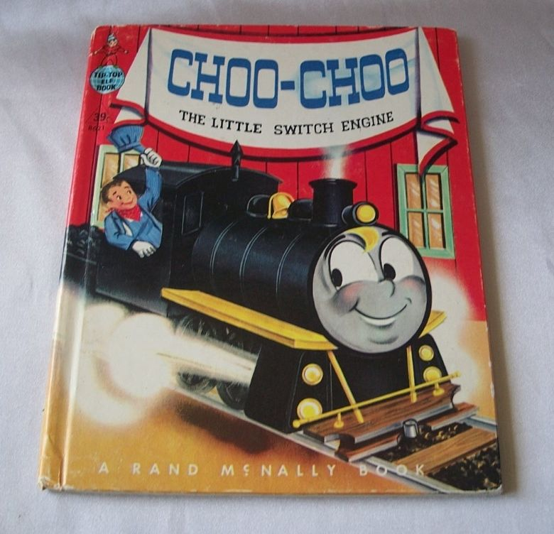 Tip Top Elf Book Choo-Choo The Little Switch Engine