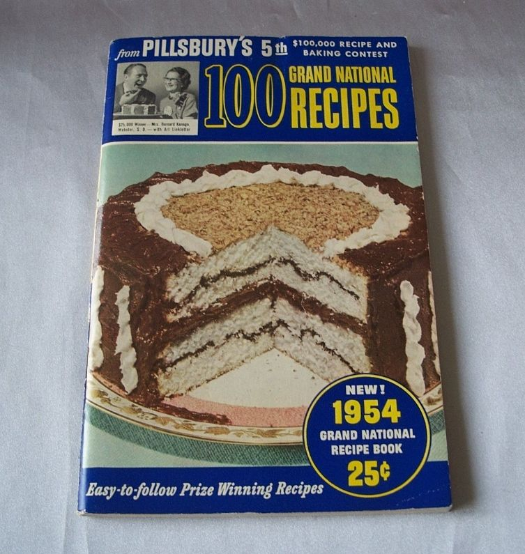 1954 Pillsbury's  5th Grand National Recipe Book