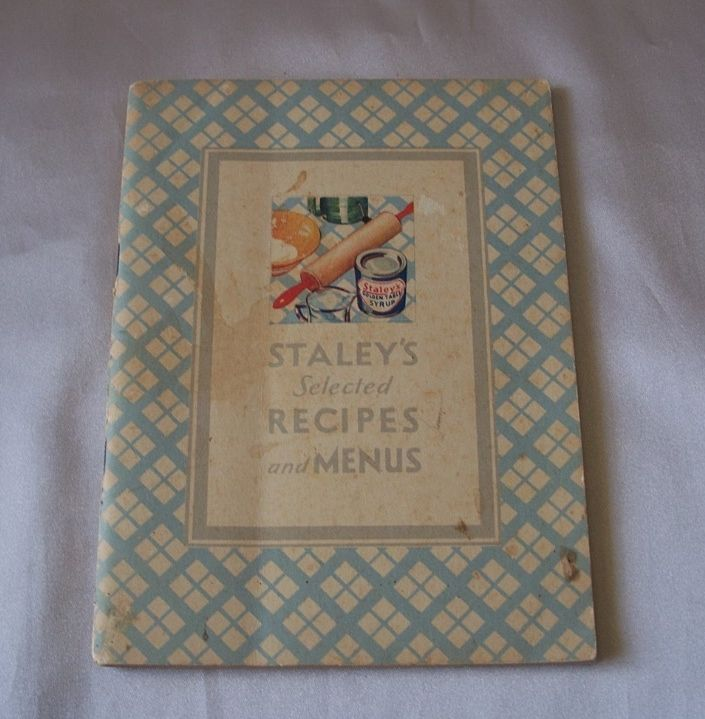 Staley's Selected Recipes and Menus Booklet