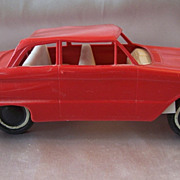 Plastic Red Falcon Toy Car