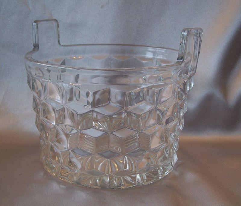 Fostoria American Crystal Ice Bucket