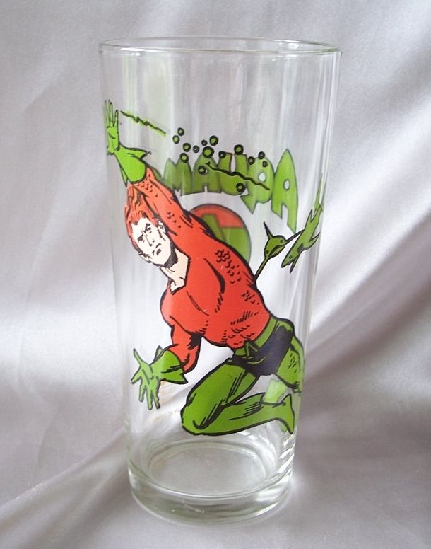 1978 Pepsi Aquaman  Collector Glass