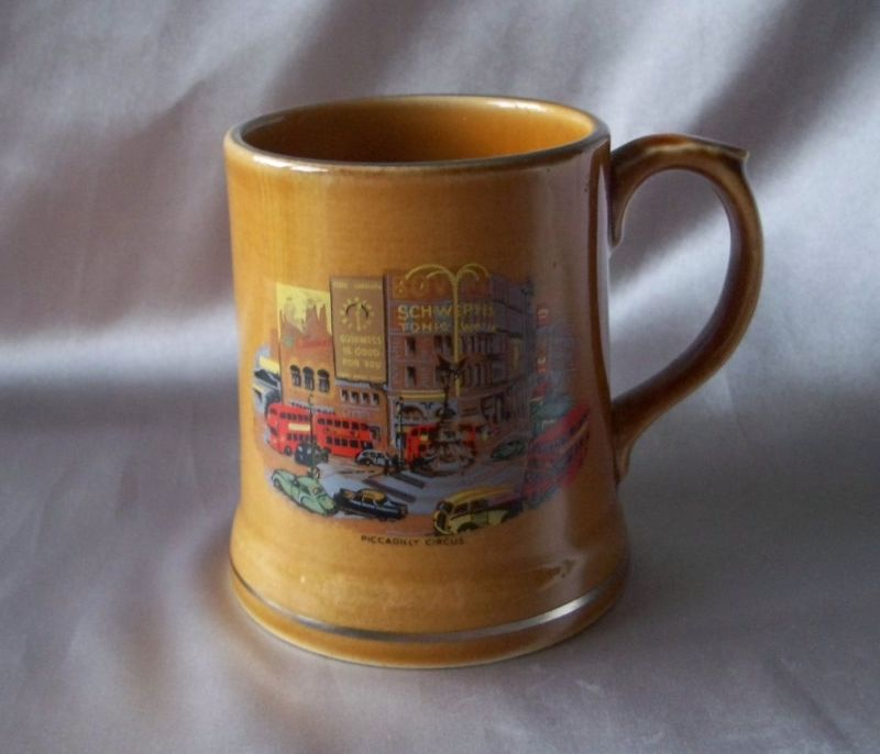 Beautiful Decorated Wade Ireland Mug