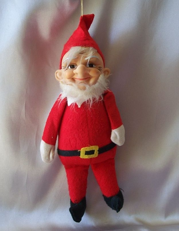 Kamar Santa Claus Elf Doll Japan 1967