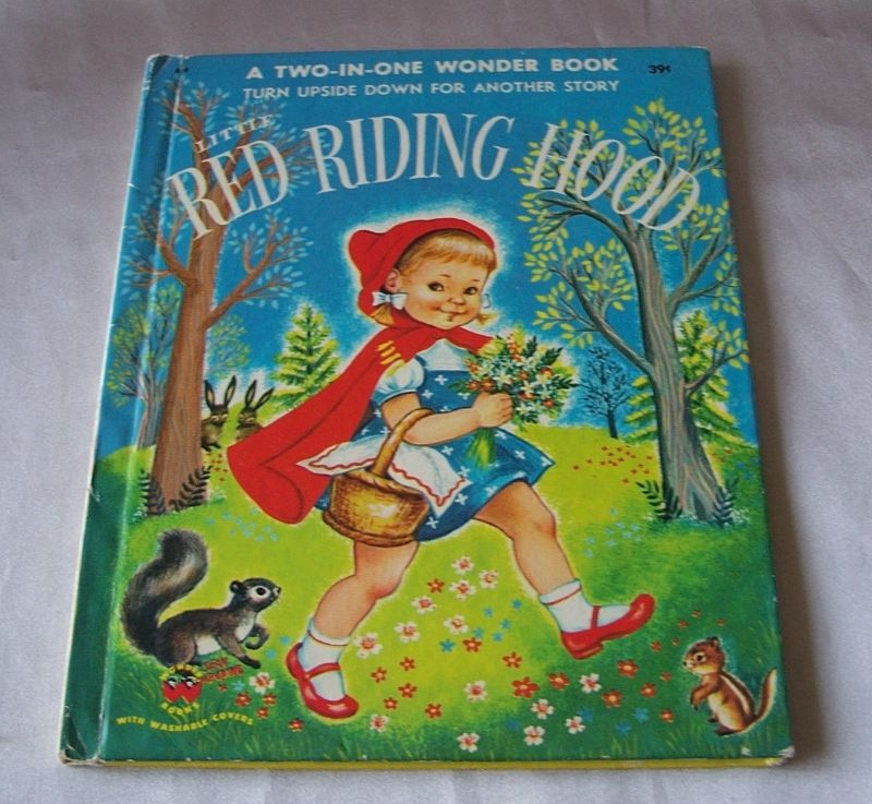 Three Little Pigs and Little Red Riding Hood Two In One Wonder Book