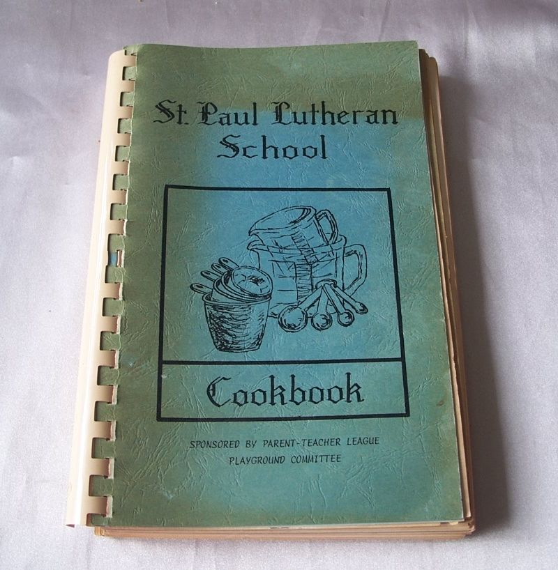 St. Paul Lutheran School Cookbook