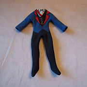Vintage Mego Dracula Mad Monsters Outfit