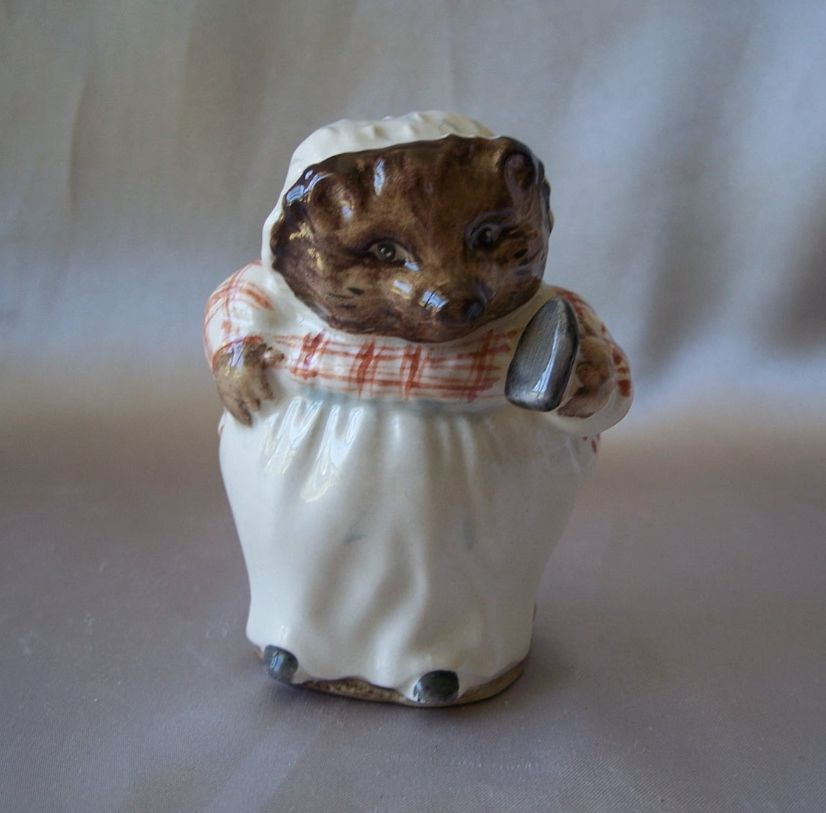 Beatrix Potter Mrs. Tiggy Winkie Ironing Figurine
