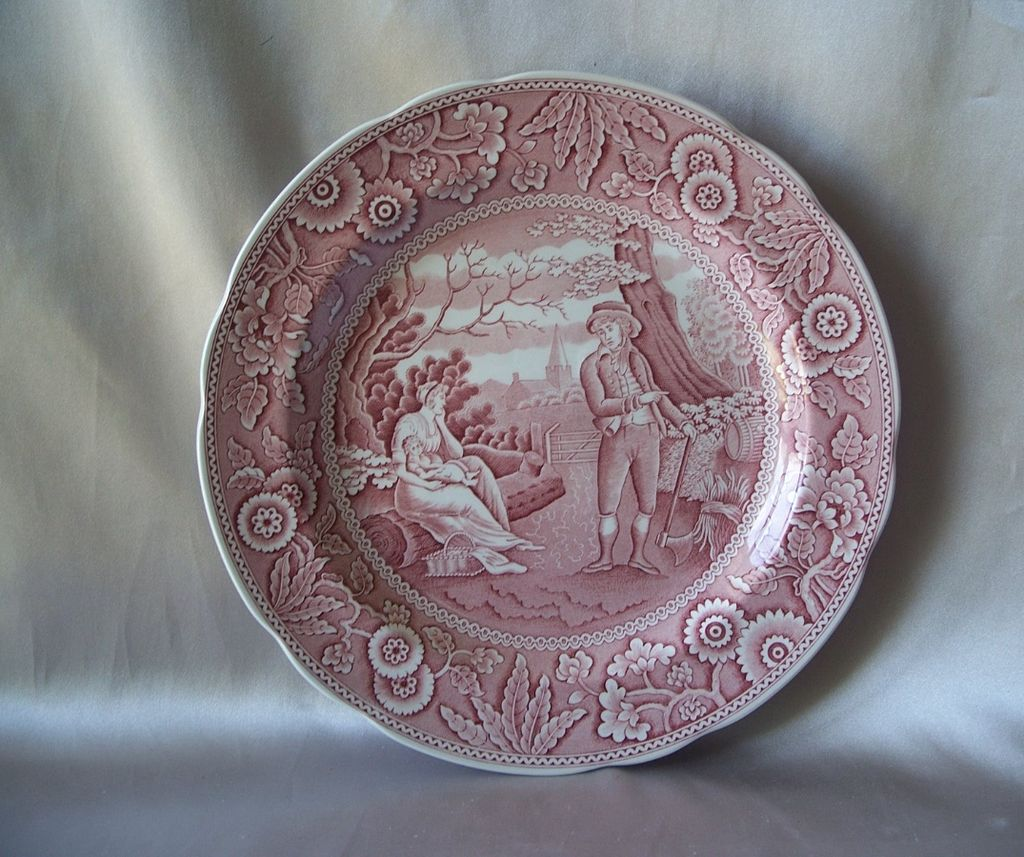 Spode Georgian Series  Plate  Woodman