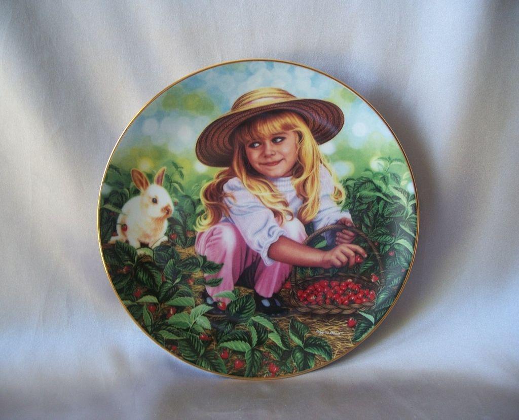 Hamilton Collector Plate Amanda