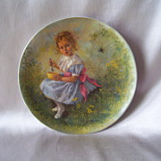 Little Miss Muffet Collector Plate