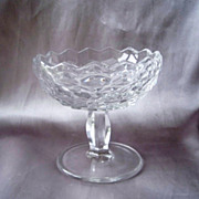 American Fostoria Crystal Comport Jelly