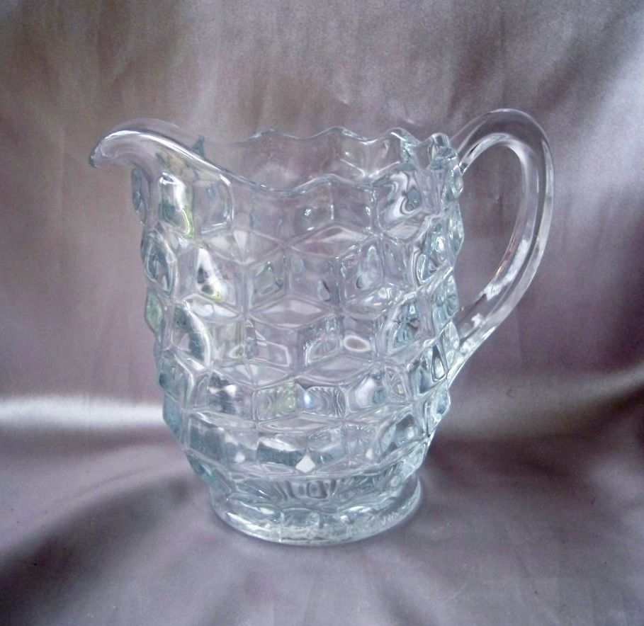 American Fostoria Crystal Pitcher