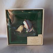 1983 Hallmark Keepsake Ornament Frosty Friends