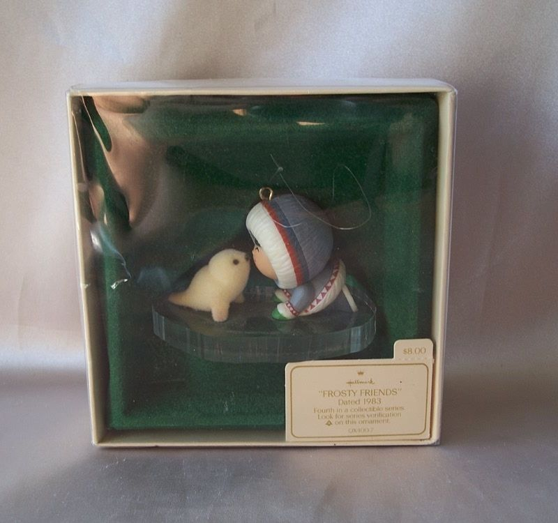 1983 Hallmark Keepsake Ornament Frosty Friends