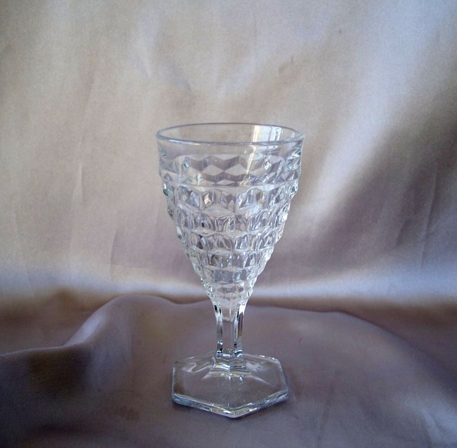 Fostoria  American Crystal Wine Glass