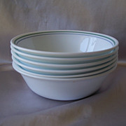 Six Corelle Country Cottage Cereal Bowls