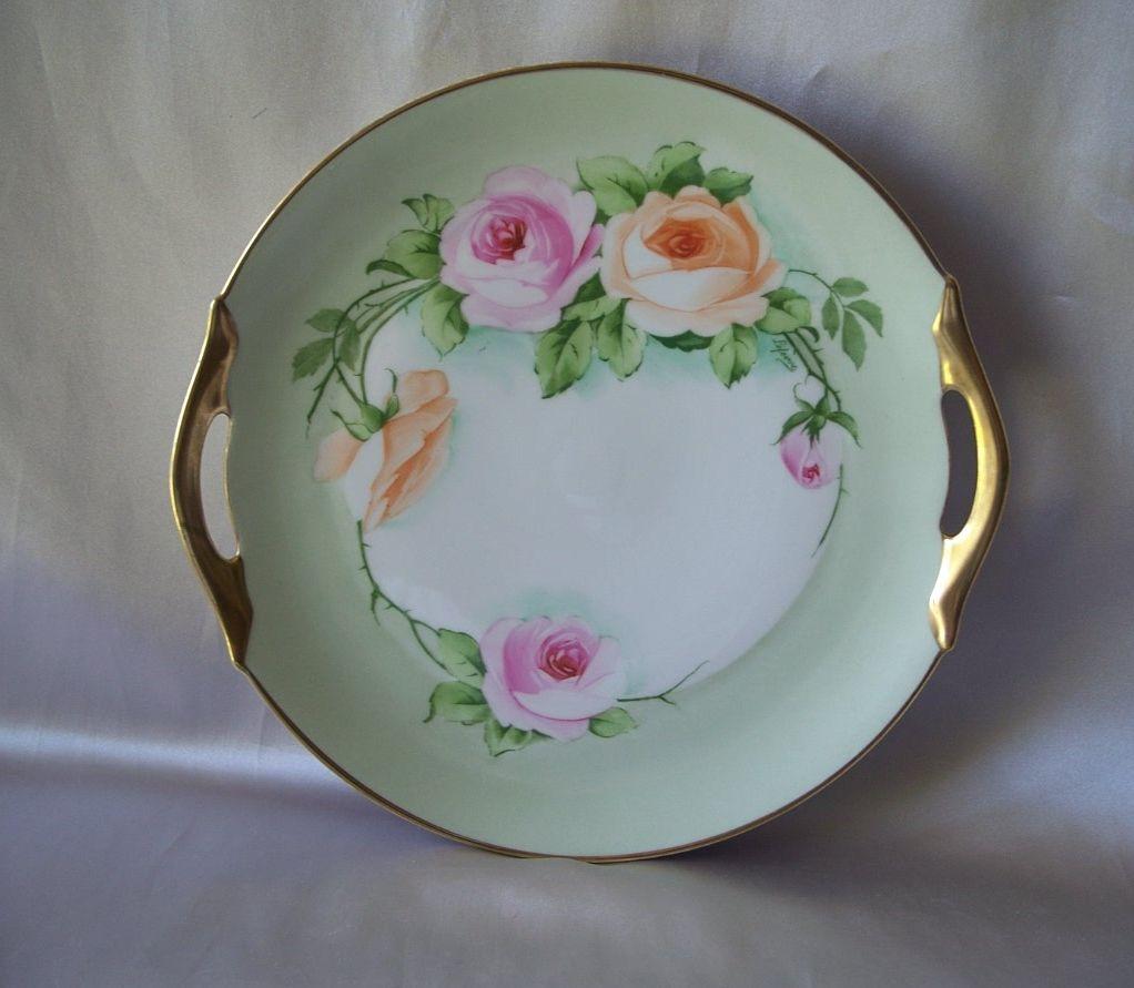 Zeh Scherzer & Co. Bavarian Cake Plate