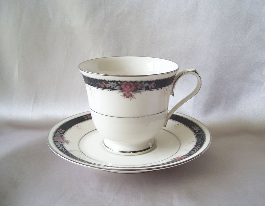 Noritake China Etienne Cup And Saucer Set