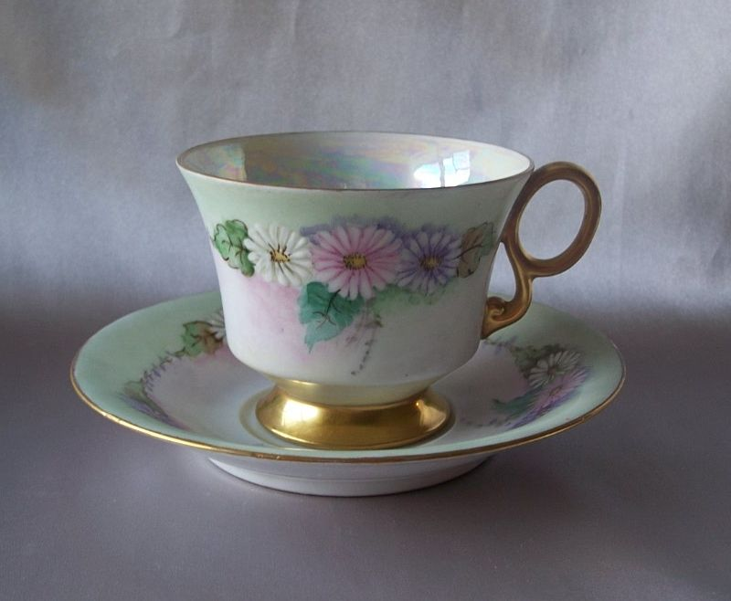 Vintage Cup and  Saucer Set 1954